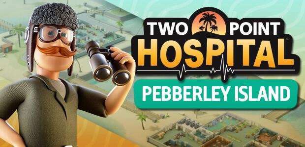 Two Point Hospital: Pebberley Island - Cover / Packshot