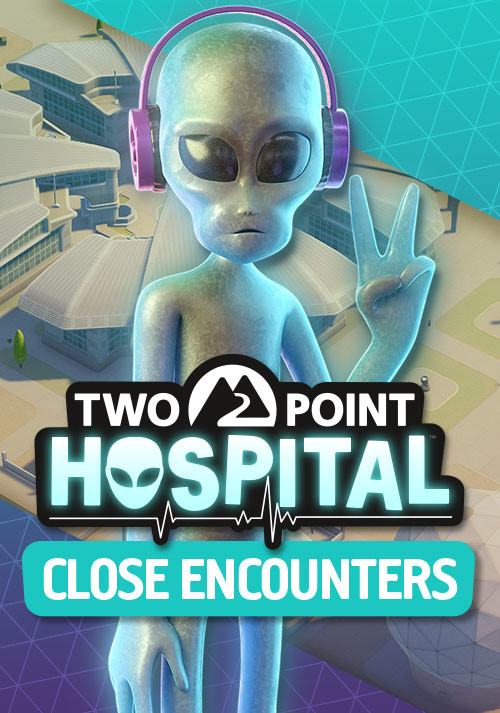 Two Point Hospital: Close Encounters - Cover / Packshot
