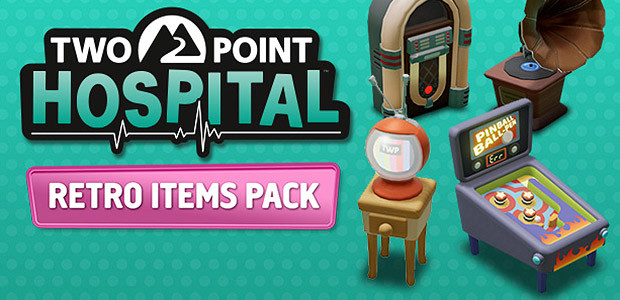 Two Point Hospital: Retro Items pack - Cover / Packshot