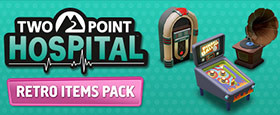 Two Point Hospital: Retro Items Pack