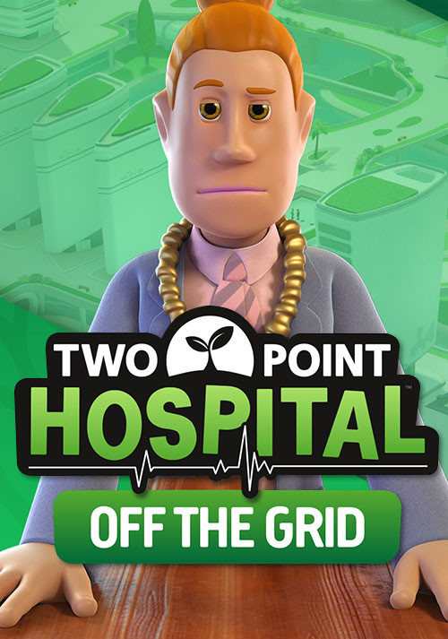 Two Point Hospital: Off the Grid - Cover / Packshot
