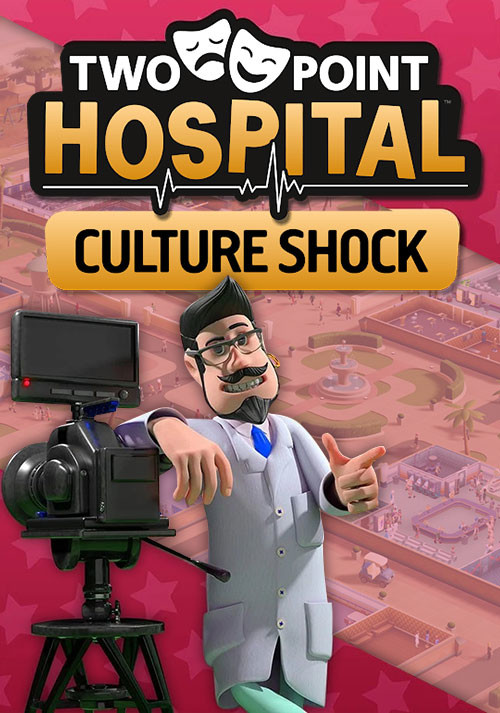 Two Point Hospital: Culture Shock - Cover / Packshot