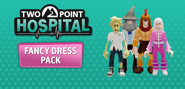 Two Point Hospital - The Fancy Dress Pack - Cover / Packshot