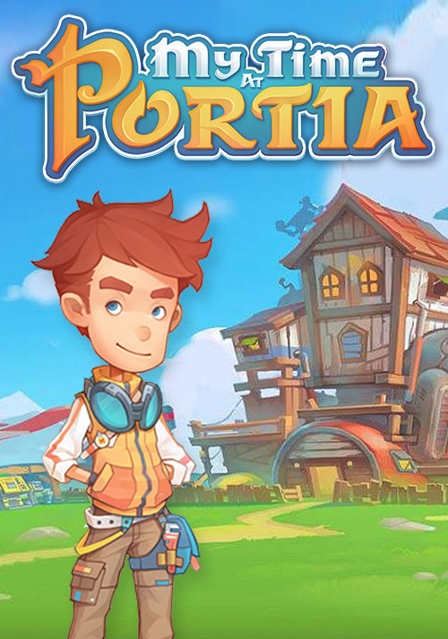 My Time At Portia - Cover