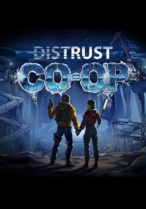 Distrust - Cover / Packshot