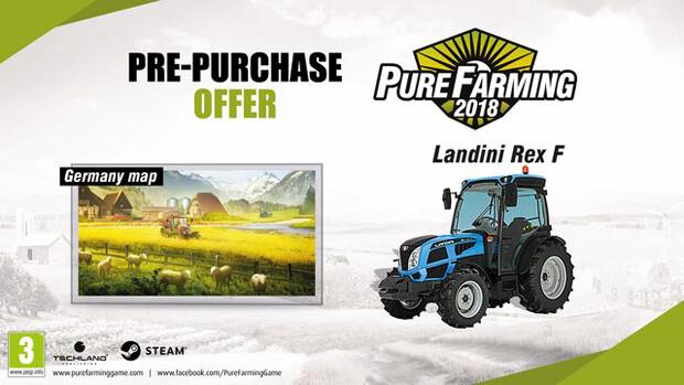 Pure Farming Pre-Order Bonus
