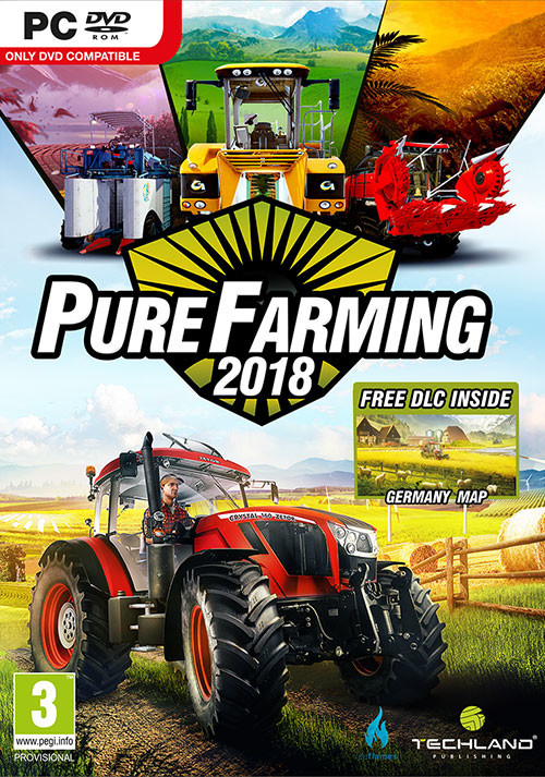 Pure Farming 2018 - Cover / Packshot