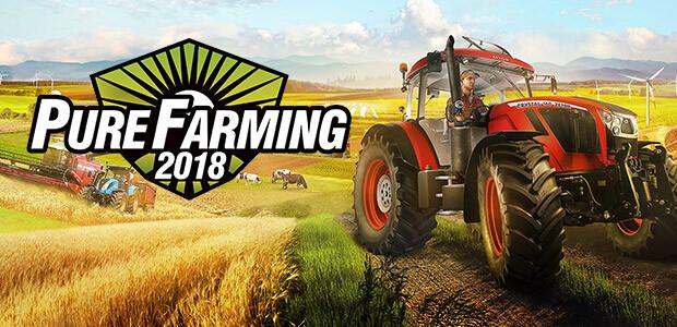 Pure Farming 2018 - Cover / Packshot