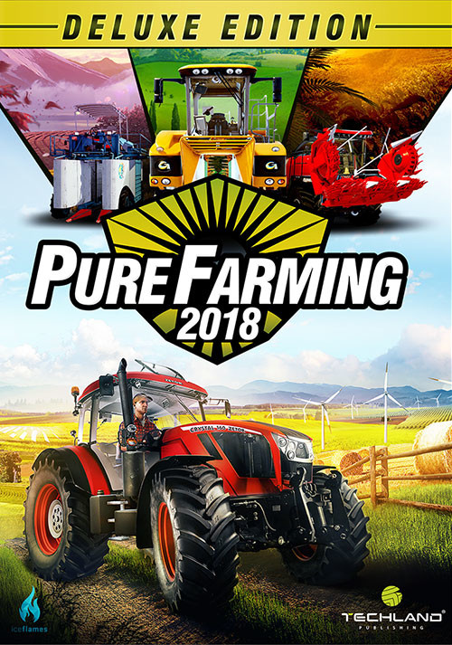 Pure Farming 2018 - Deluxe Edition - Cover