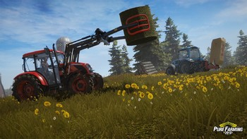 Screenshot4 - Pure Farming 2018 - Deluxe Edition