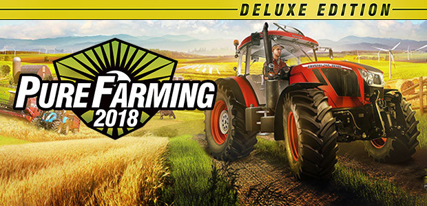 Pure Farming 2018 - Deluxe Edition - Cover / Packshot