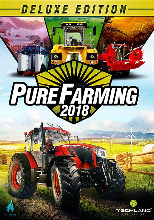 Pure Farming 2018 - Deluxe Edition - Cover