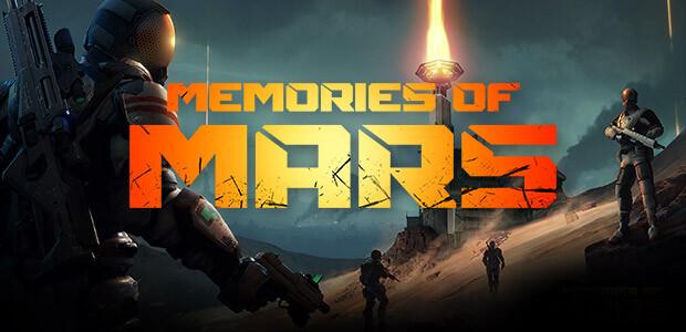 Memories of Mars - Cover / Packshot
