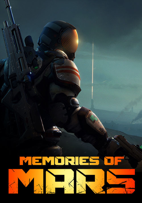 Memories of Mars - Cover / Packshot