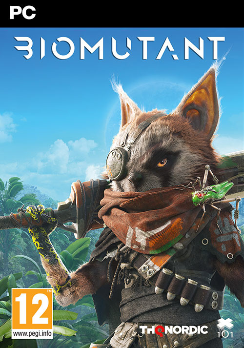 BIOMUTANT - Cover / Packshot
