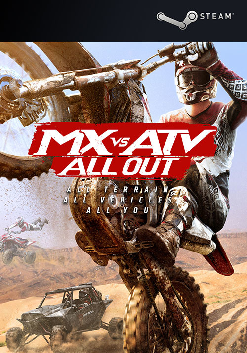 MX vs ATV All Out - Cover / Packshot