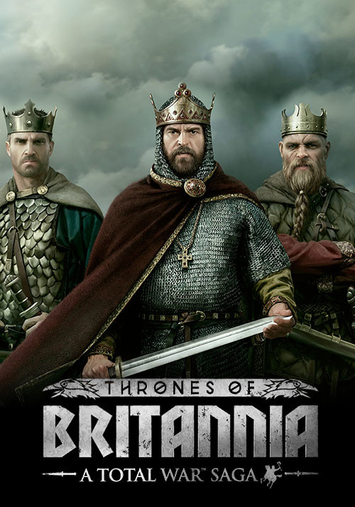 Total War Saga: Thrones of Britannia - Cover / Packshot