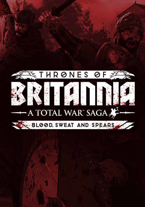 Total War Saga: THRONES OF BRITANNIA - Blood, Sweat and Spears - Cover