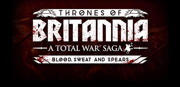 Total War Saga: Thrones of Britannia - Blood, Sweat and Spears - Cover / Packshot