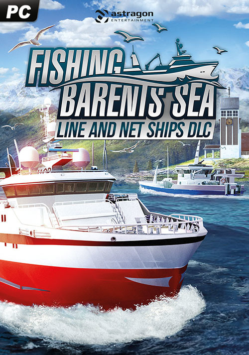 Fishing: Barents Sea - Line and Net Ships - Cover / Packshot