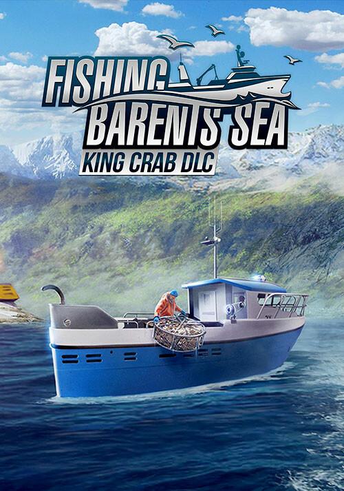Fishing: Barents Sea - King Crab - Cover / Packshot