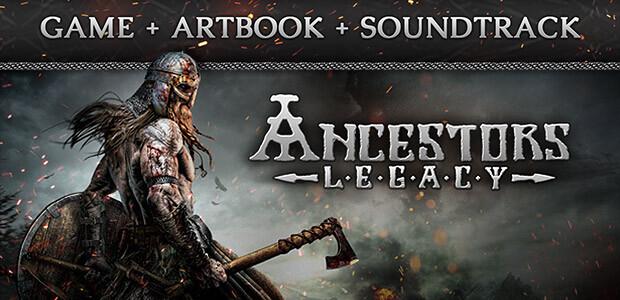 Ancestors Legacy Game + Artbook + Soundtrack - Cover / Packshot