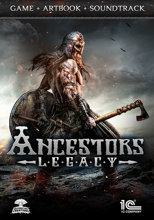 Ancestors Legacy Game + Artbook + Soundtrack - Cover