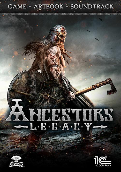 Ancestors Legacy Game + Artbook + Soundtrack - Cover