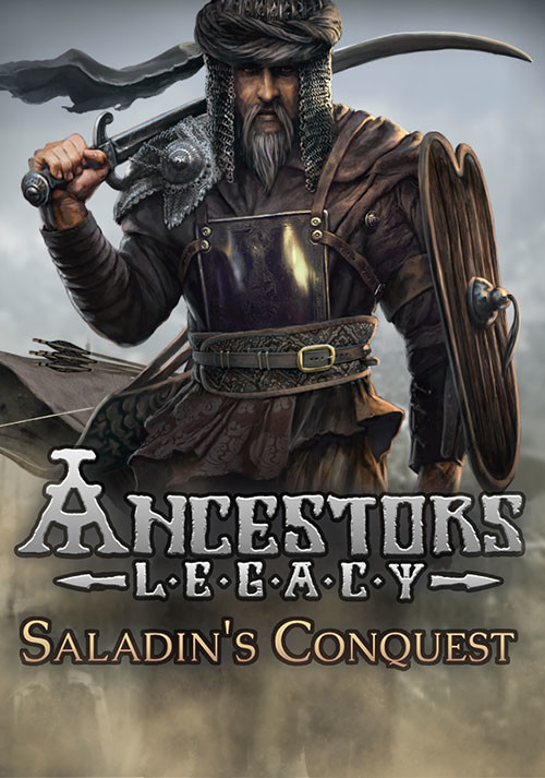 Ancestors Legacy - Saladin's Conquest - Cover / Packshot