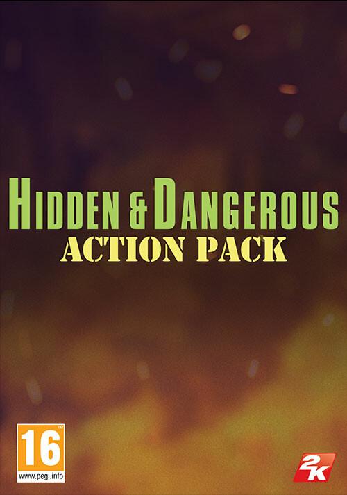 Hidden & Dangerous: Action Pack - Cover / Packshot