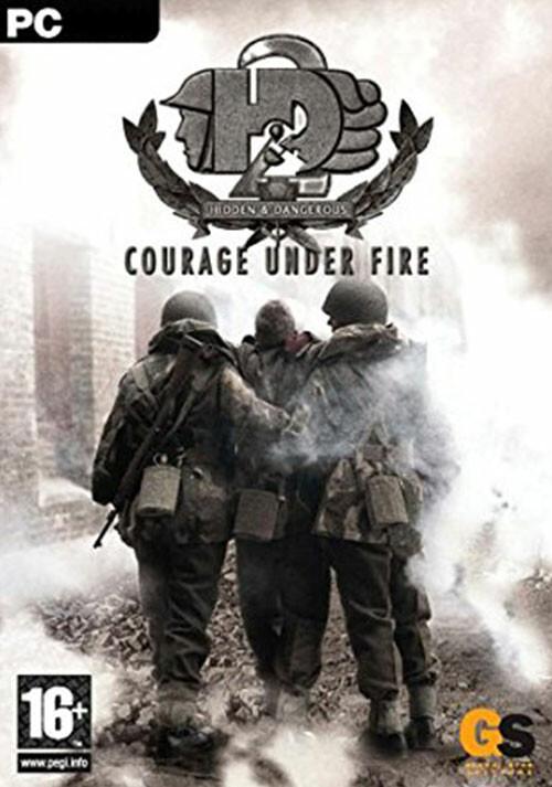 Hidden & Dangerous 2: Courage Under Fire - Cover