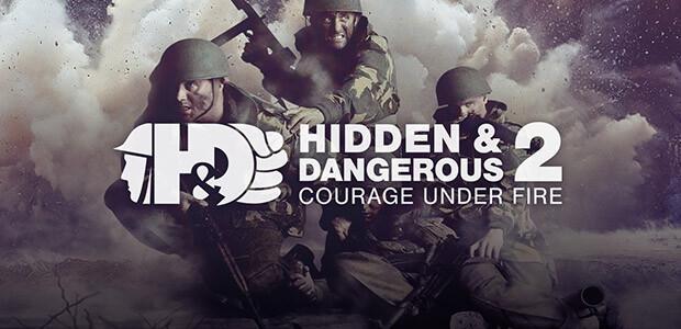 Hidden & Dangerous 2: Courage Under Fire - Cover / Packshot