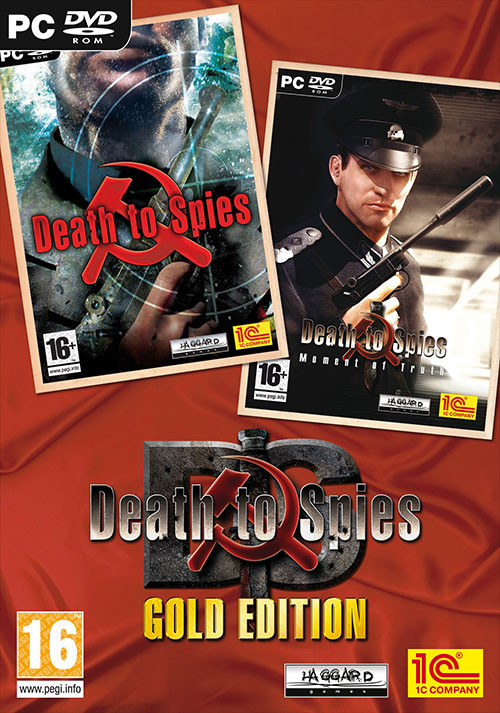 Death to Spies: Gold - Cover / Packshot