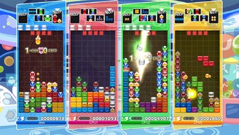 Screenshot1 - Puyo Puyo Tetris