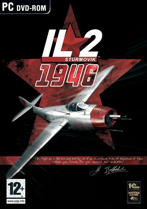 IL-2 Sturmovik: 1946 - Cover