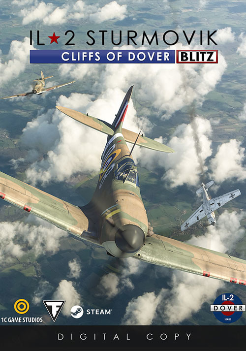 IL-2 Sturmovik: Cliffs of Dover Blitz Edition - Cover