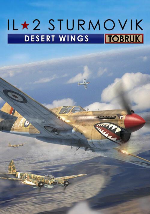 IL-2 Sturmovik: Desert Wings - Tobruk - Cover / Packshot