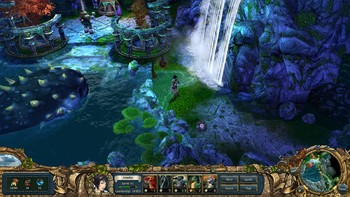 Screenshot1 - King's Bounty: Armored Princess