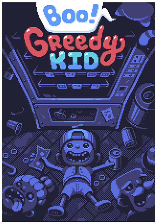 Boo! Greedy Kid - Cover / Packshot