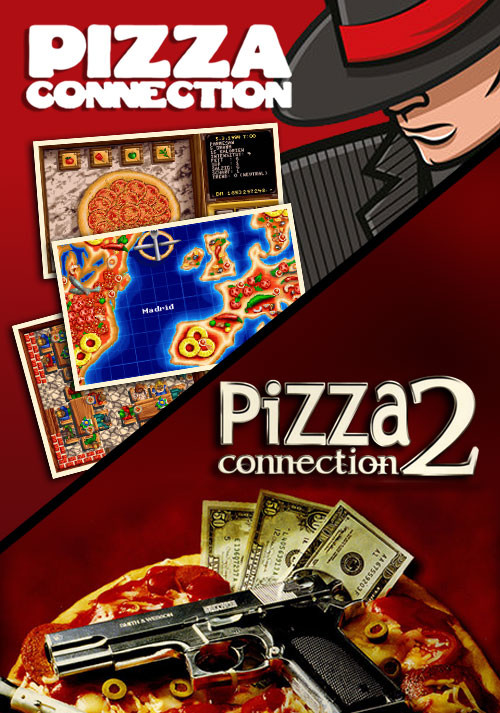 Pizza Connection 1&2 - Cover / Packshot