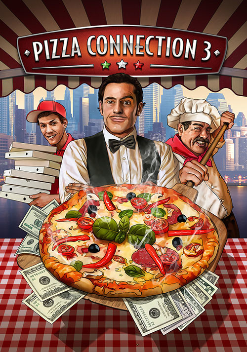Pizza Connection 3 - Cover / Packshot