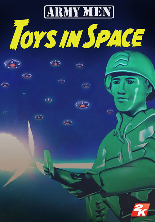 Army Men: Toys in Space - Cover