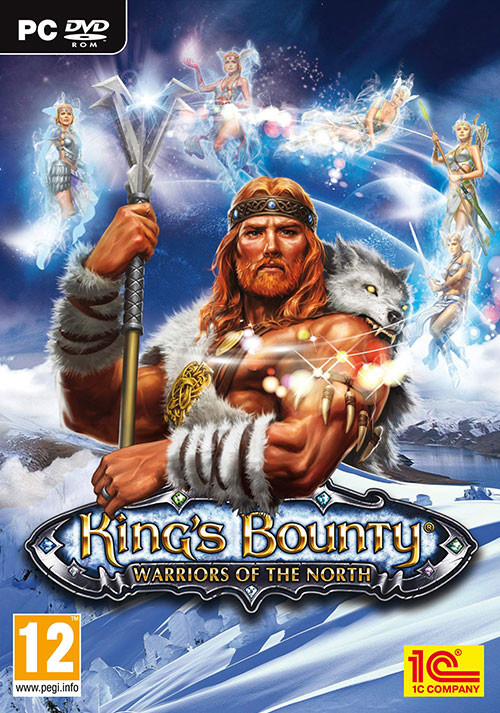 King's Bounty: Warriors of the North - Cover / Packshot