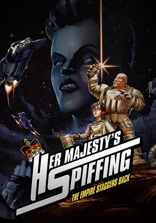 Her Majesty's SPIFFING - Cover / Packshot