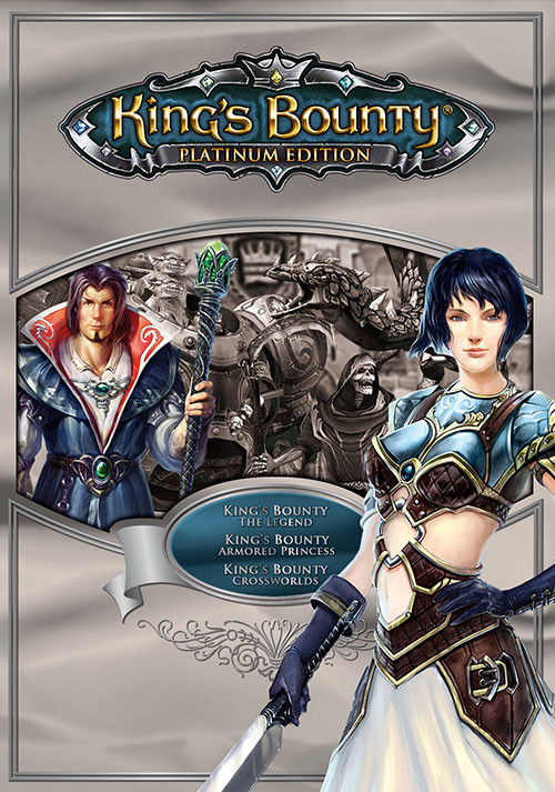 King's Bounty: Platinum Edition - Cover