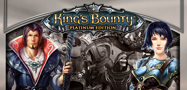 King's Bounty: Platinum Edition - Cover / Packshot