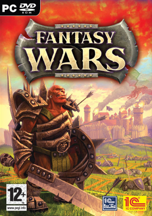 Fantasy Wars - Cover