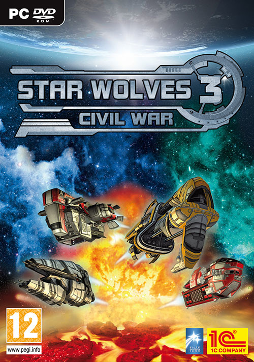 Star Wolves 3: Civil War - Cover