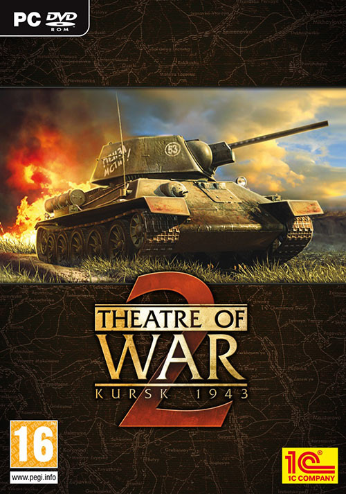 Theatre of War 2: Kursk 1943 - Cover