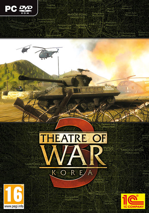 Theatre of War 3: Korea - Cover / Packshot